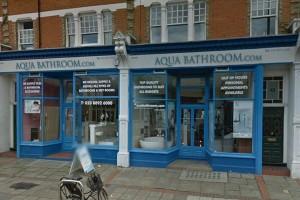 Aqua Bathroom Twickenham