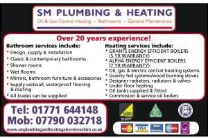 SM Plumbing & Heating
