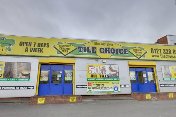 Tile Choice Bromford Lane