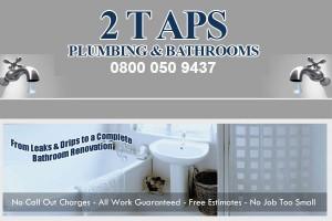 2 Taps Plumbing