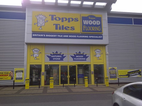 Topps Tiles Aintree