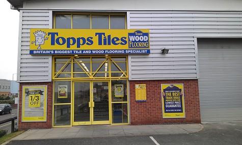 Topps Tiles Birkenhead