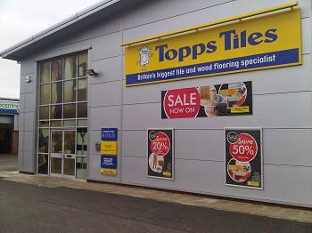 Topps Tiles Crewe