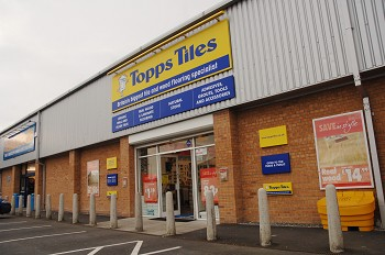 Topps Tiles Cross Hands