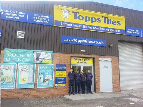 Topps Tiles Edinburgh Seafield