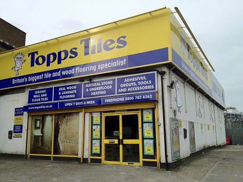 Topps Tiles Old Kent Road