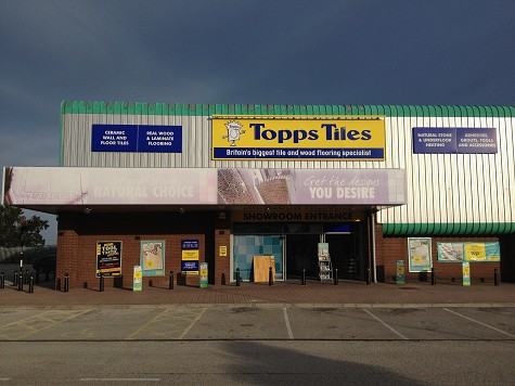Topps Tiles Poole