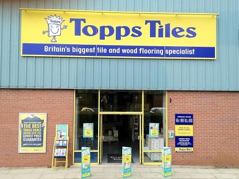 Topps Tiles Snipe