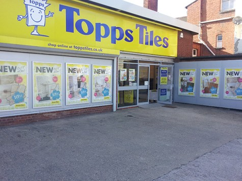Topps Tiles Rugby