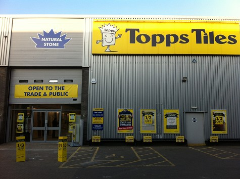 Topps Tiles Staples Corner