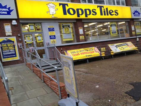 Topps Tiles Shoreditch