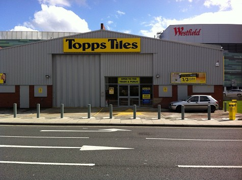 Topps Tiles White City Westfield