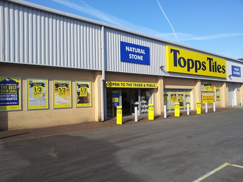 Topps Tiles Swansea Cwmdu