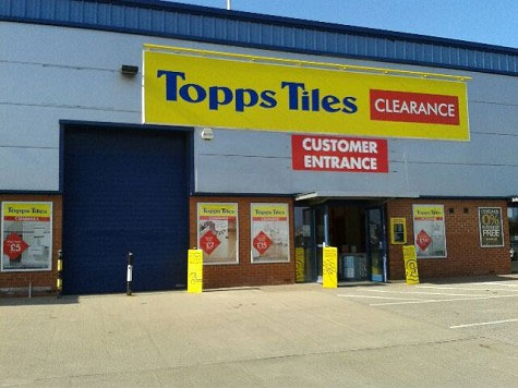 Topps Tiles Hull Clearance